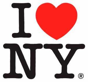 I love New York tshirt design form funky art