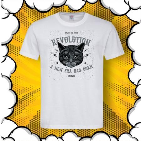 Мъжка тениска с печат Break The Rules