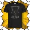 мъжка тениска с печат елен