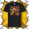 тениска с принт лисица