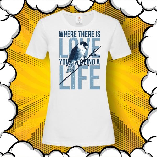 дамска тениска с цитат от Махатма Ганди