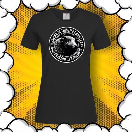 Дамска тениска с печат Buffalo Worth