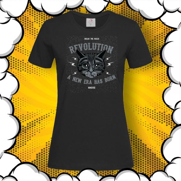 метал тениска с принт