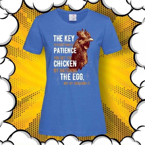 дамска тениска с мотивиращ надпис