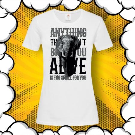 Дамска тениска с мотивиращ цитат от Дейвид Уайт