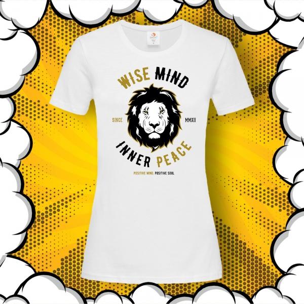 дамска тениска с лъв