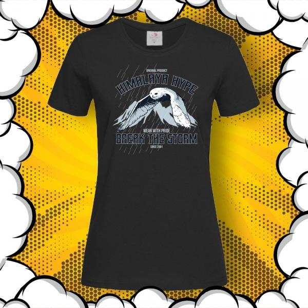 дамска тениска със сова