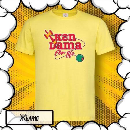 Детска тениска с принт КЕНДАМА