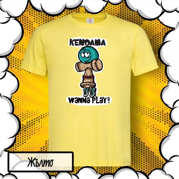 детска тениска кендама