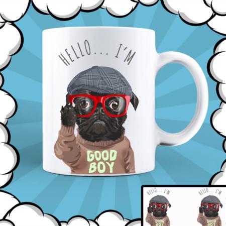 Керамична чаша с надпис Good Boy