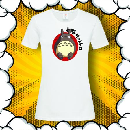 Дамска тениска с аниме принт Тоторо