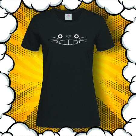 Дамска тениска с аниме принт