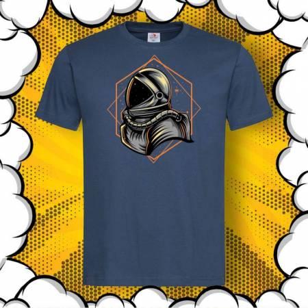 Мъжка тениска с принт ASTRONAUT