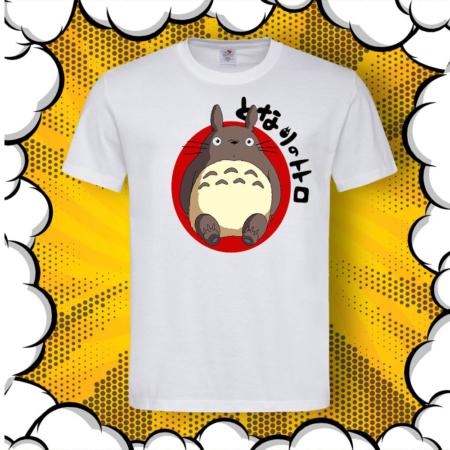 Мъжка тениска с аниме принт