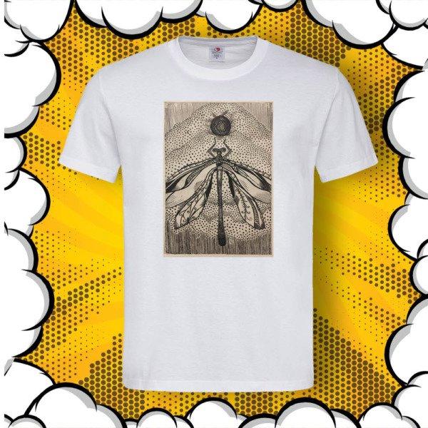 Мъжка тениска с авторска литография