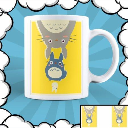 Керамична чаша с аниме илюстрация