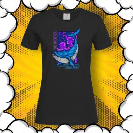 Дамска тениска с цитат Dreamer
