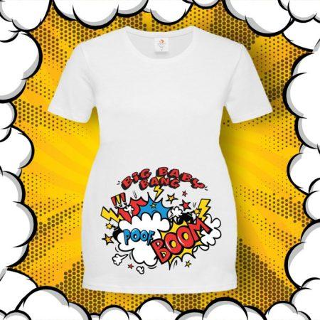 Тениска за бременни Big BABY Bang! BOOM