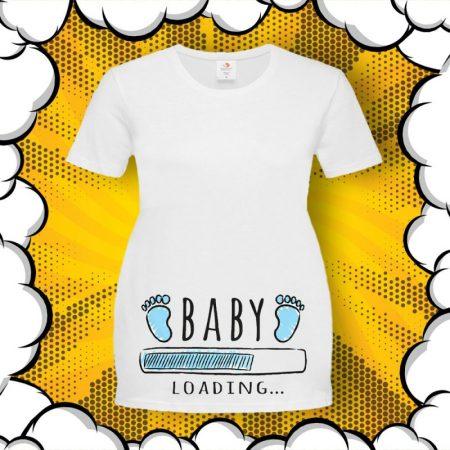 Тениска за бременни BABY Loading….