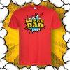 Тениска за баща с надпис SUPER DAD
