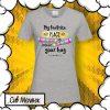 Дамска тениска за подарък на любима жена