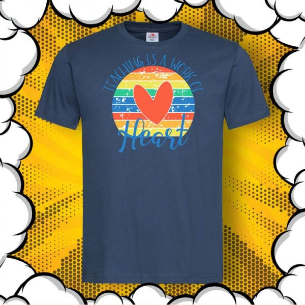 Тениска за подарък на учител