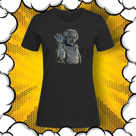 Дамска тениска с принт Albert Einstein E=mc²