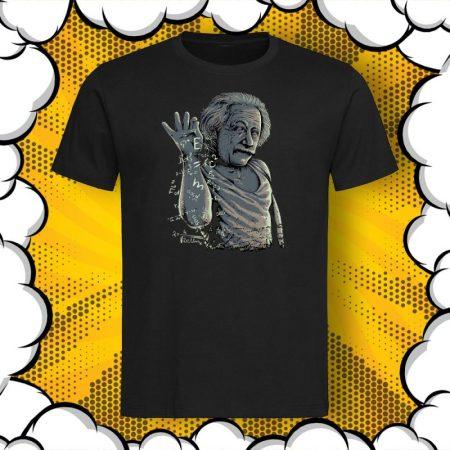 Мъжка тениска с принт Albert Einstein E=mc²